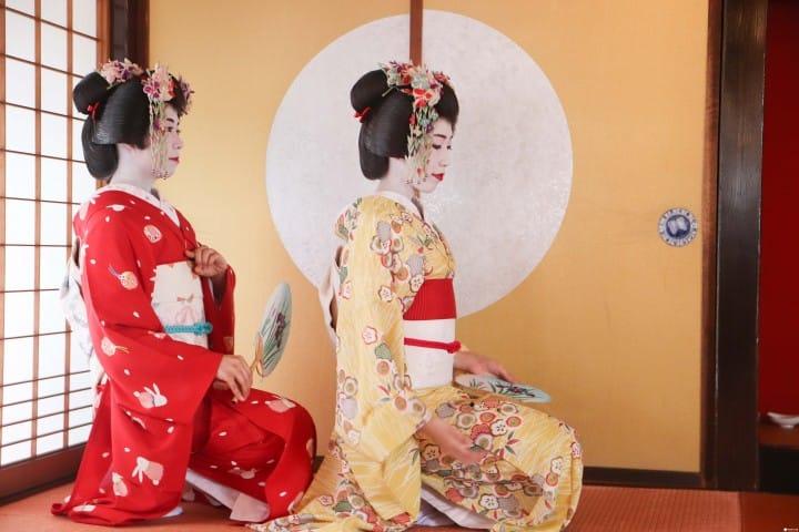 『山形』相馬樓藝伎表演 &山五十川歌舞伎隈取體驗盡在酒田市