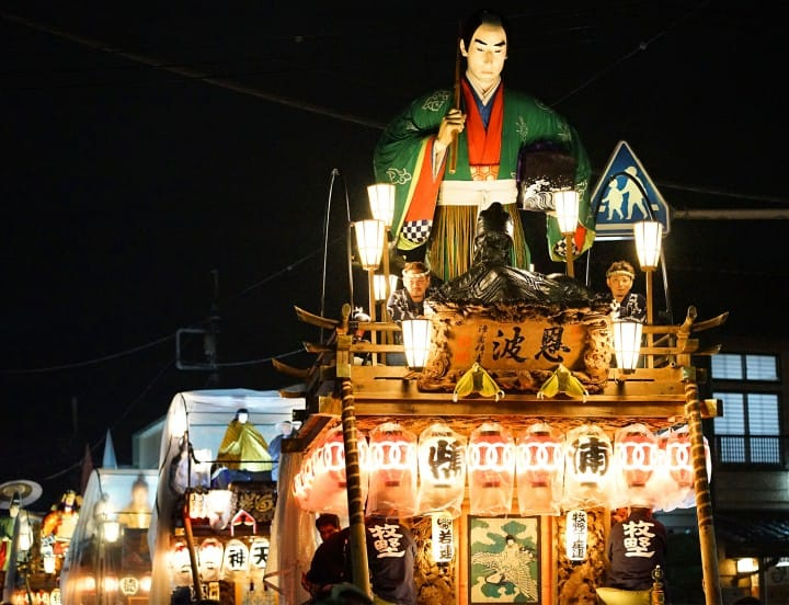 Sawara Grand Festival - Witness An Amazing Parade Of Giant Floats