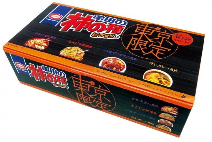 「ご當地×柿の種」でお菓子で日本食を味わう旅。