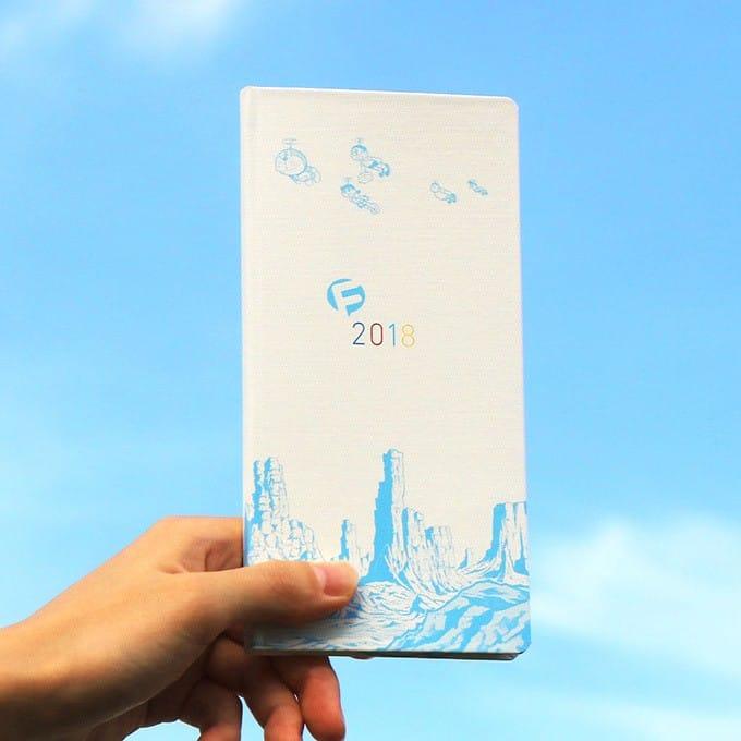 2018年哆啦A夢手帳