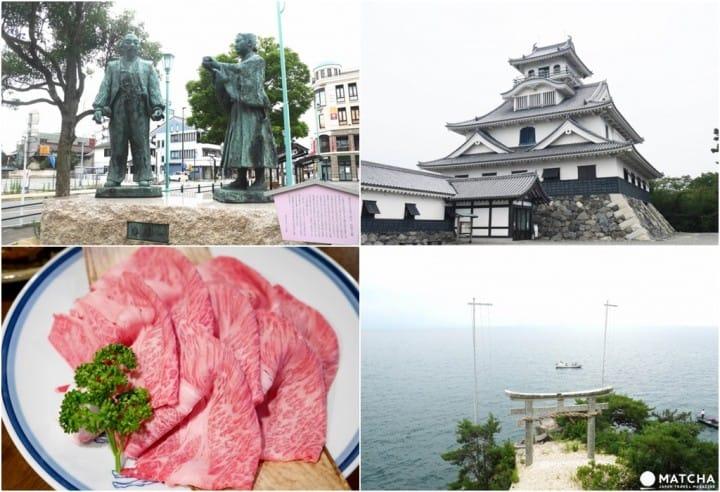 【滋贺】琵琶湖畔走一回,探访竹生岛,大吃近江牛