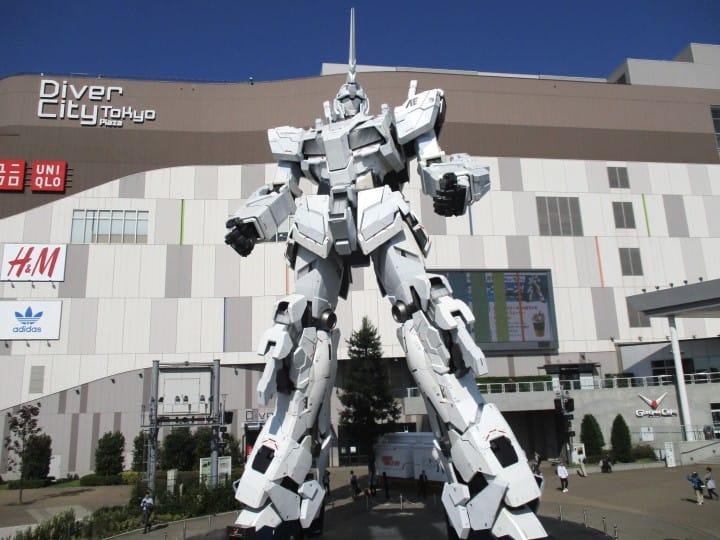 從東京開始的一日獨角獸鋼彈旅行,現在,出發!
