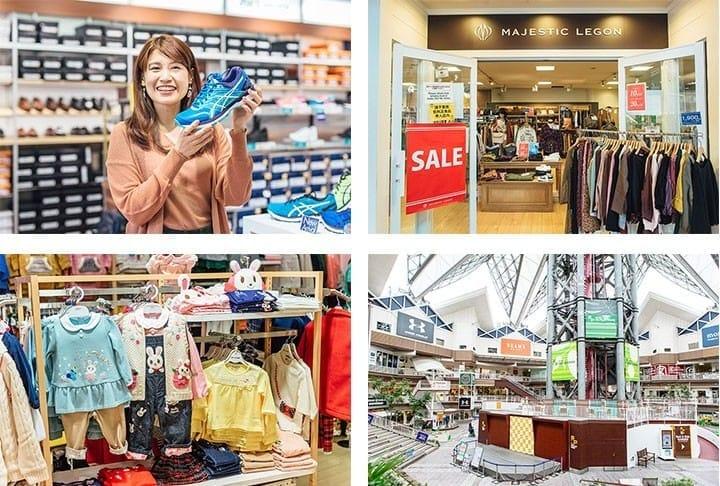 「MITSUI OUTLET PARK 大阪鶴見」的人氣店家5選!用折扣券來入手超值商品!