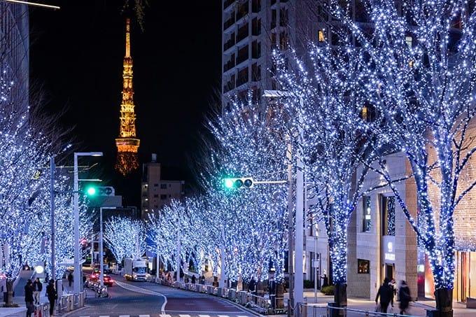 热闹圣诞市集与闪亮圣诞夜景,2017六本木Hills圣诞点灯活动登场