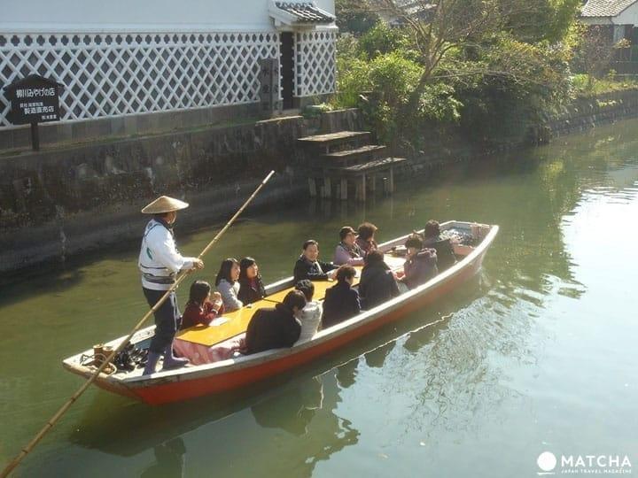 Fukuoka's Yanagawa River - A Scenic Cruise On A Boat With A Heater!