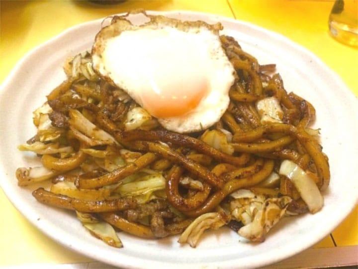 Fukuoka's Secret Eggy Specialty: Kokura Yaki Udon