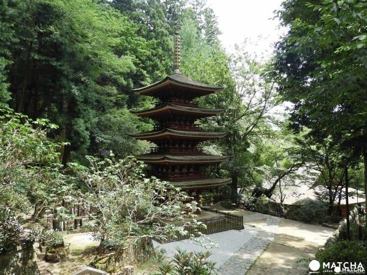 與大自然融為一體,奈良縣「室生寺」