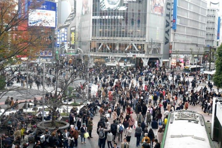 東京一日遊涉谷