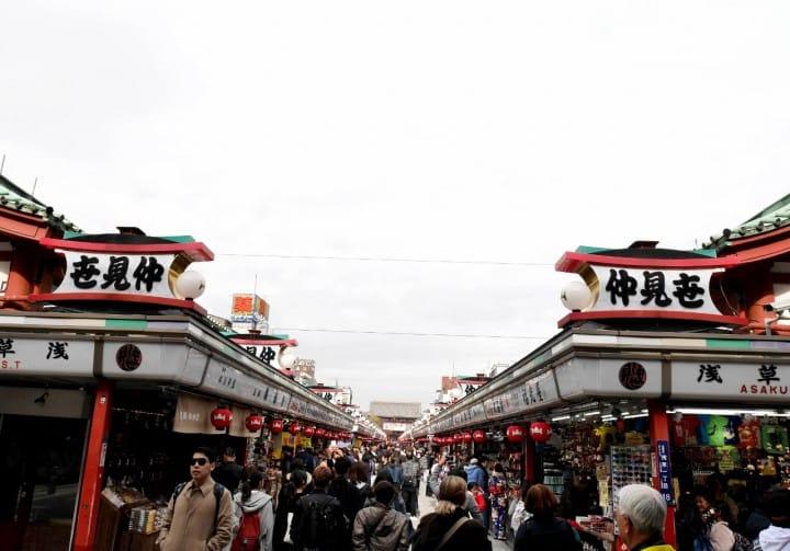 東京一日遊淺草