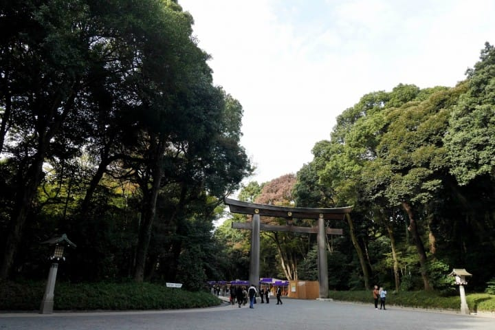 東京一日遊明治神宮