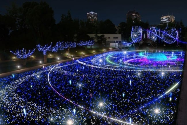Tokyo Midtown And Akasaka Sacas Illuminations 2017-2018 Edition