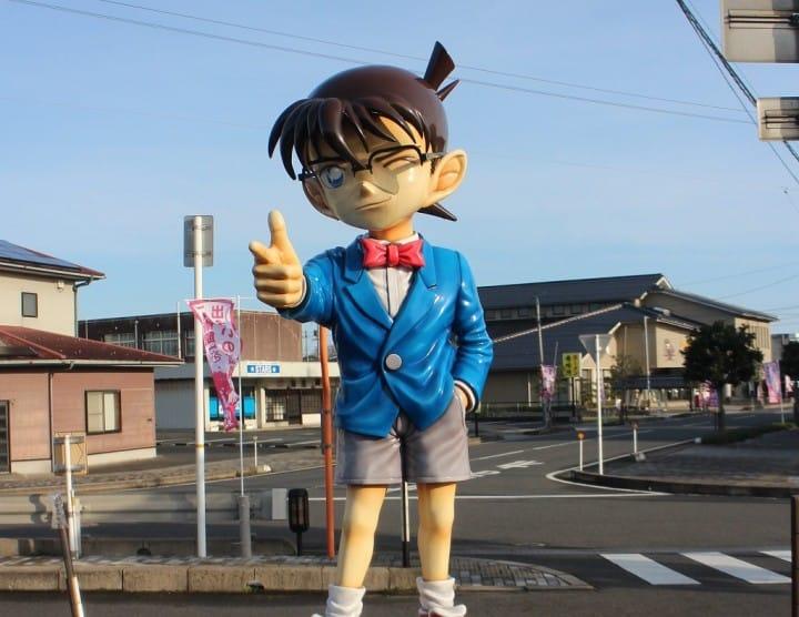 Meet Detective Conan In Tottori! Explore The World Of Manga