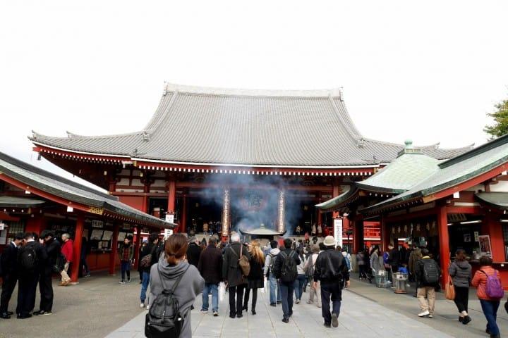 東京一日遊淺草寺