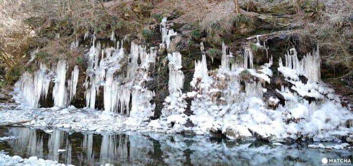 秩父路三大氷柱:三十槌冰柱