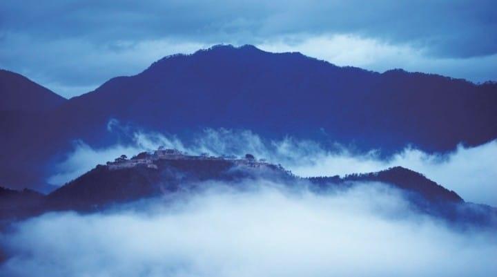 """运气和人品够好才能看到的""""天空之城""""—竹田城"""