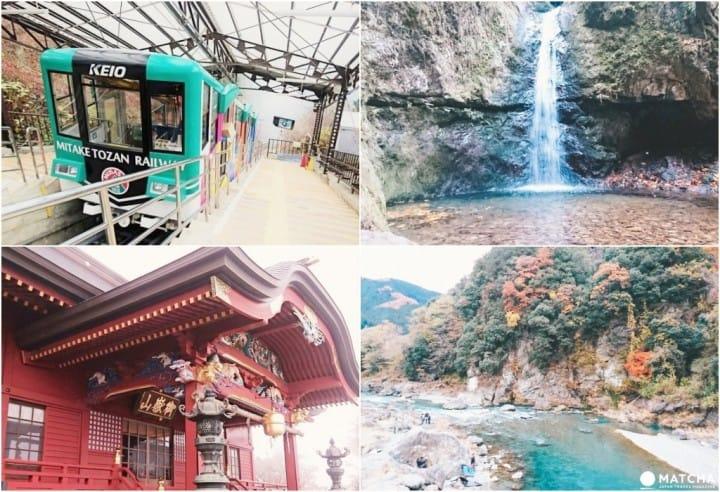 【東京近郊】山林溪谷當天來回!「御岳山」賞奇岩觀瀑布