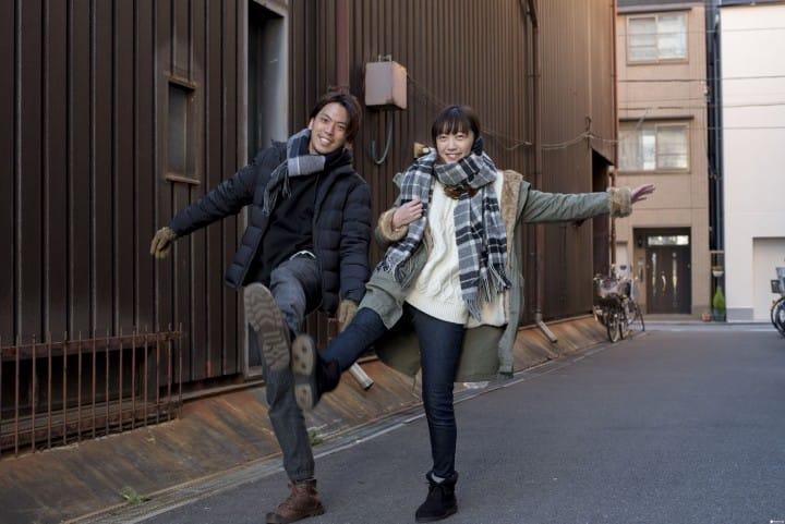 【关西天气】京阪神1,2月天气与服装穿搭示范