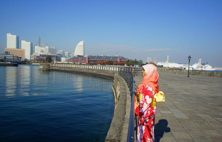 Muslim-Friendly Yokohama - Wear A Kimono And Enjoy Tea Ceremony!