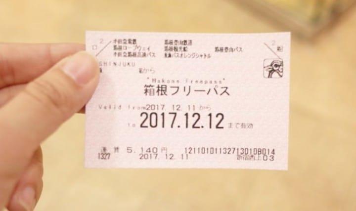 箱根周遊券
