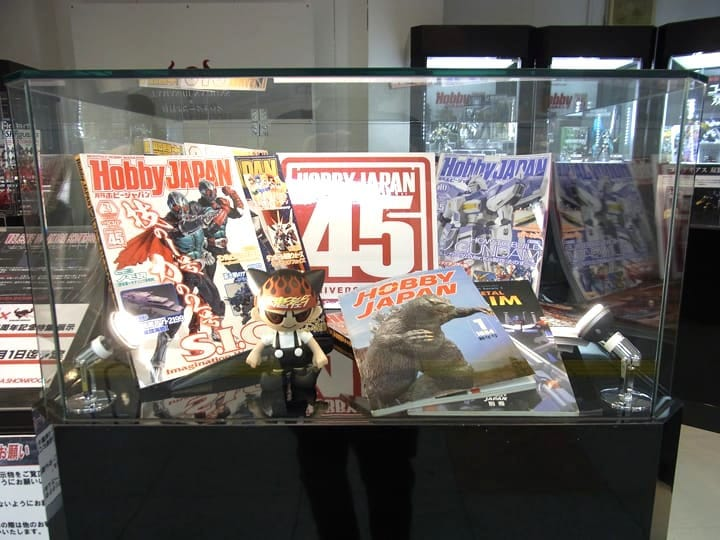 Tamashii Nations Akiba Showroom - A Figure Museum With No Entrance Fee!