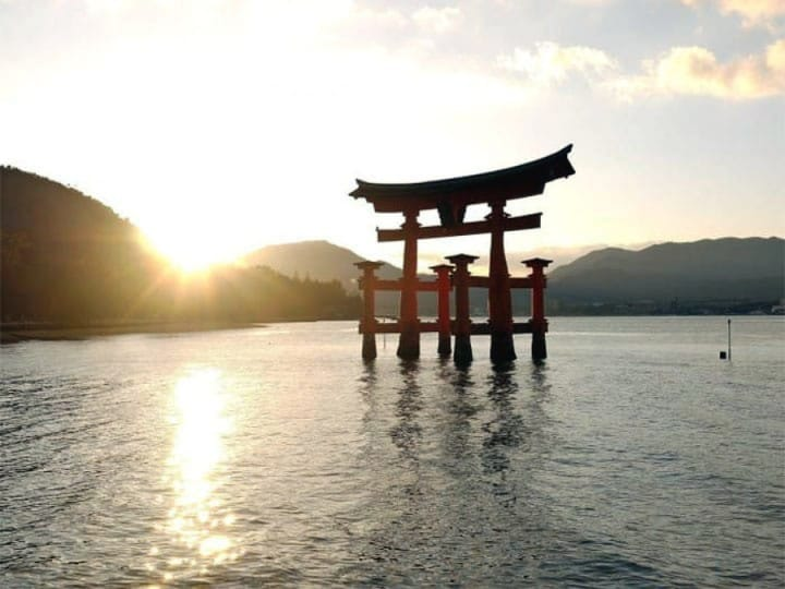 Floating In The Sea - Strolling Through Itsukushima Shrine, Hiroshima