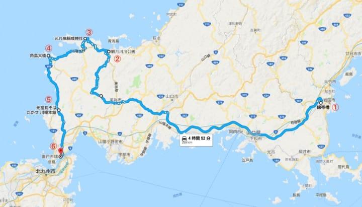 山口マップ