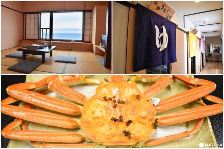 【福井住宿】到贴心款待的民宿CHIHIRO大快朵颐越前蟹全餐!