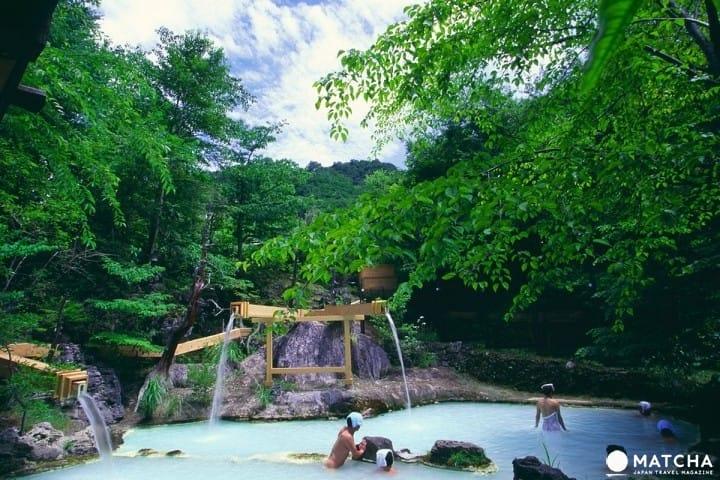 【长野县】泡汤、美食、绝景,让人此生足已的白骨温泉!