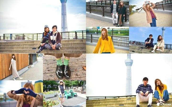 Những điểm cần tìm hiểu trước khi bắt đầu chuyến du lịch! Thời tiết, nhiệt độ của Tokyo và trang phục