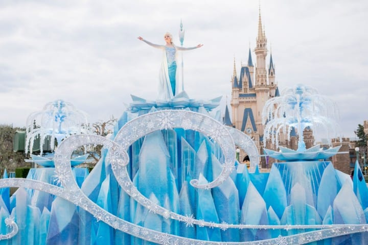 Anna And Elsa's Frozen Fantasy At Tokyo Disneyland - Until March 2018!