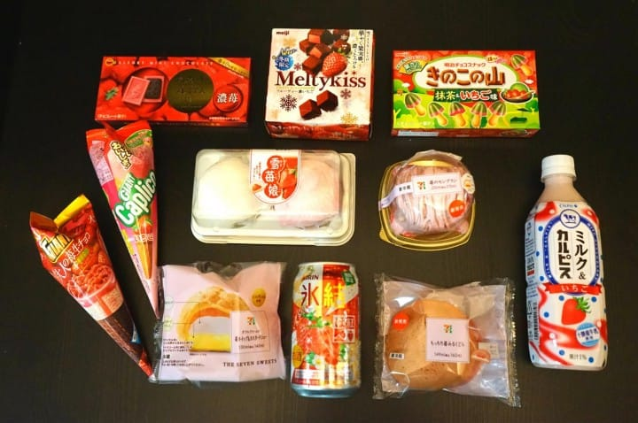 Winter Limited! 11 Strawberry Flavored Items At Convenience Stores