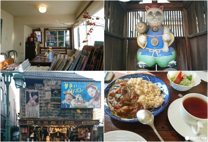 東京近郊半日散策,來懷舊老街貓町「青梅」打滾找貓咪!