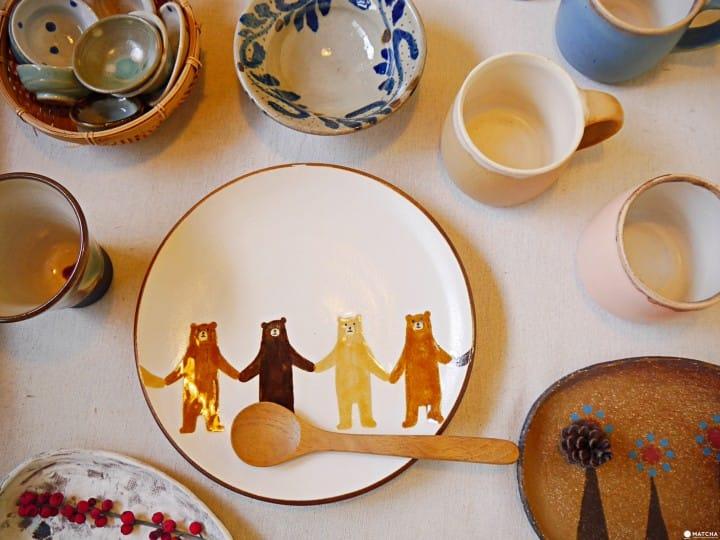 Craft・Gift yacchi&moon熊盤