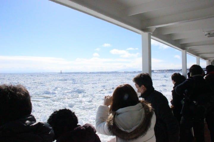 船内からの景色