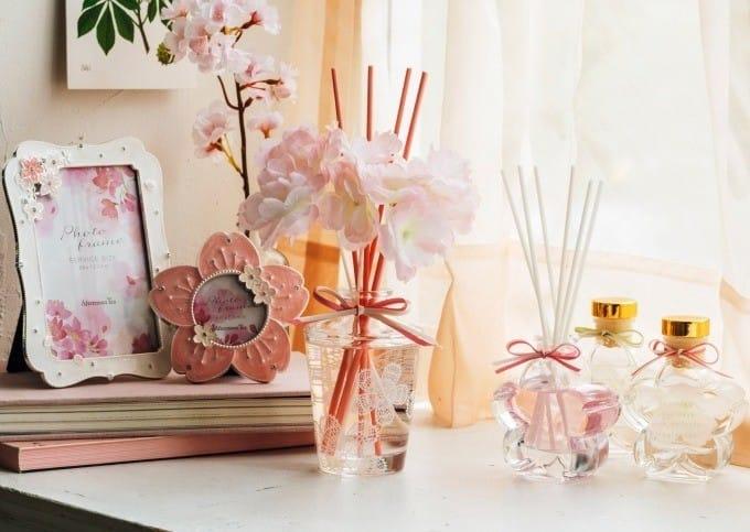 讓滿室櫻花紛飛,Afternoon Tea LIVING「櫻花系列」粉嫩登場