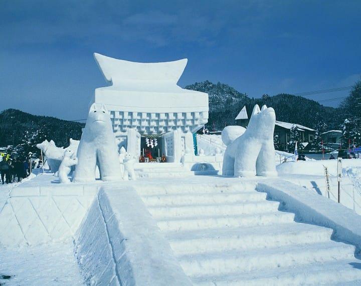冬天玩什麼?日本【北海道、新潟、青森、秋田、岩手、栃木】雪祭10選!