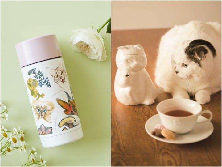 立體貓咪茶壺組 保溫瓶Afternoon tea
