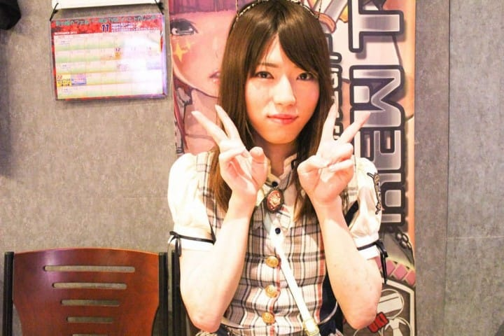 Maid café travesti: Akihabara NEWTYPE