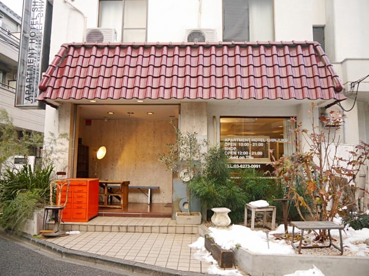 Apartment Hotel Shinjuku外觀