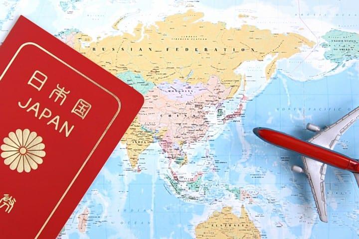 パスポート 地図