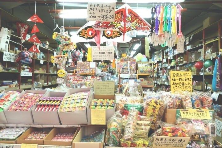 玩具零食的宝库,来逛大阪古早味松屋町筋商店街