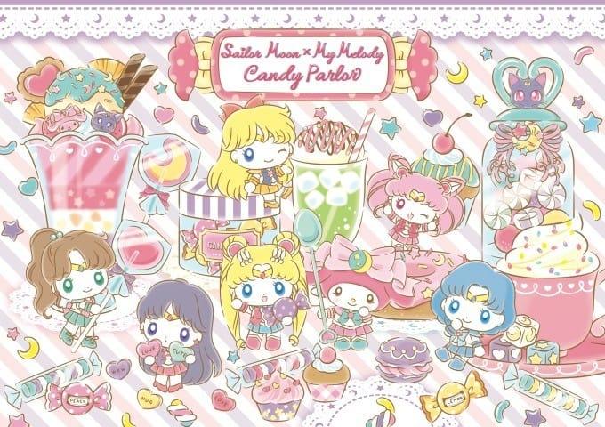 美少女戰士Sailor Moonx My Melody餐點