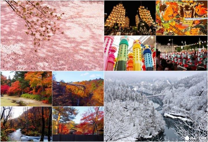 整個東北都是我的遊樂園!用JR東日本周遊券(東北地區)看盡東北四季