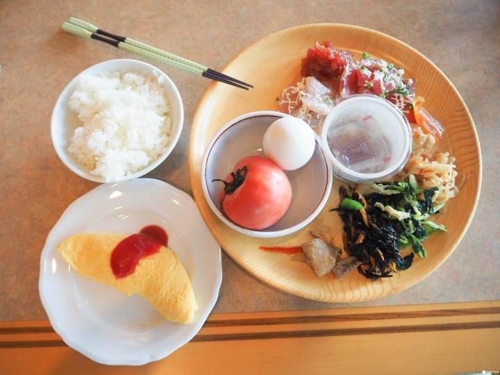 東京近郊 千葉鴨川溫泉飯店早餐