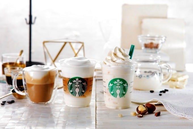日本starbucks 白咖啡星冰樂
