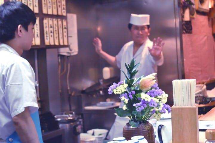 高圓寺巷弄美食ー炸蛋天丼專賣店「天すけ(天助)」