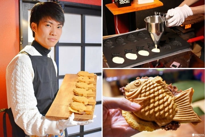 Make Delicious Taiyaki For Yourself At GURAKU In Asakusa!