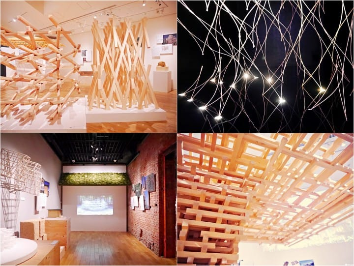隈研吾三十年作品特展,在东京车站画廊与物质深度对话