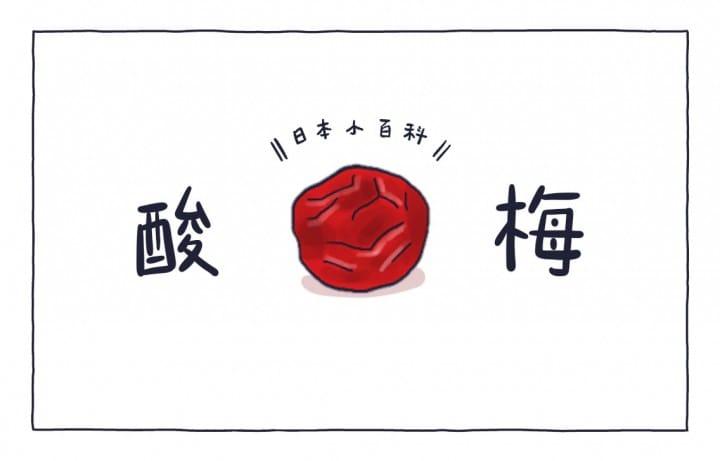 MATCHA畫日本 酸梅
