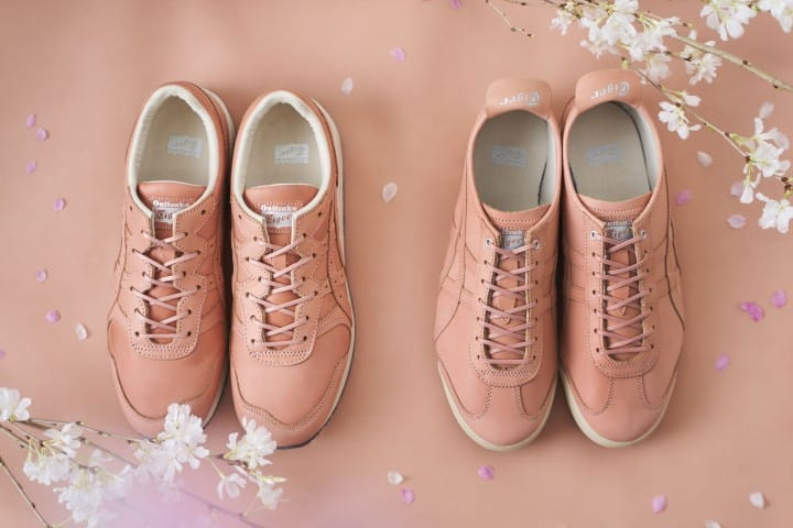Sakura Dyed Sneakers At Discount Prices